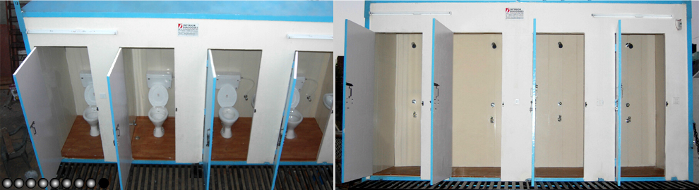 Movable Washroom Toilets